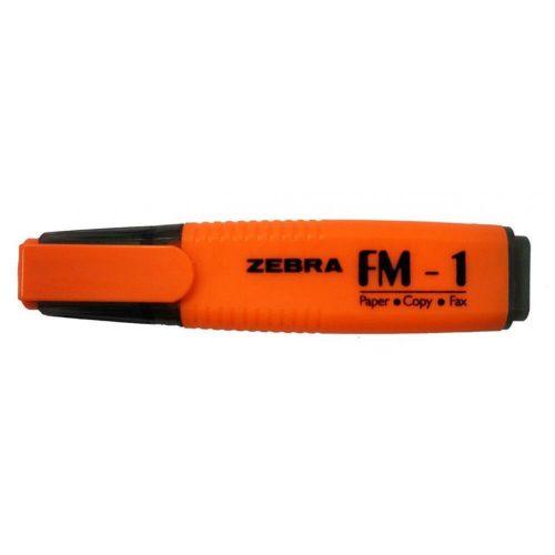 Szövegkiemelő, 2-5mm, Zebra, narancs