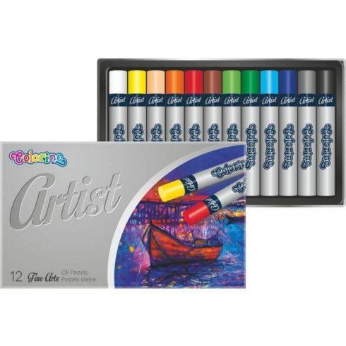 Olajpasztell kréta készlet, 12 db-os, Colorino Artist