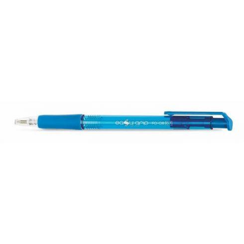 Golyóstoll, Flexoffice EasyGrip, kék, 0,7 mm, nyomógombos