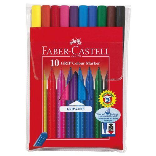 Filctoll készlet 10 db-os, Faber-Castell Grip
