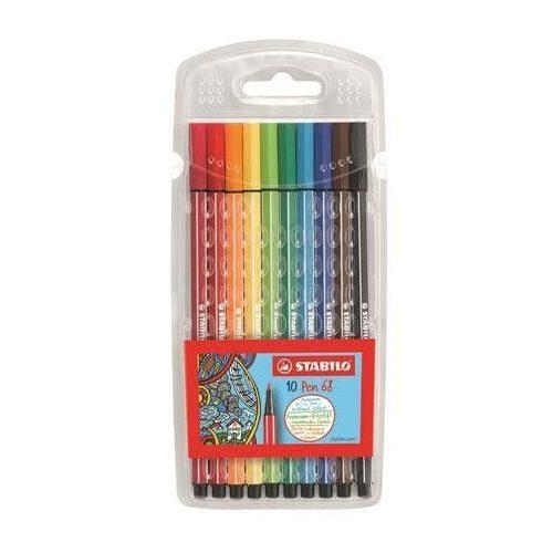 Filctoll készlet 10 db-os, 1 mm, Stabilo Pen 68