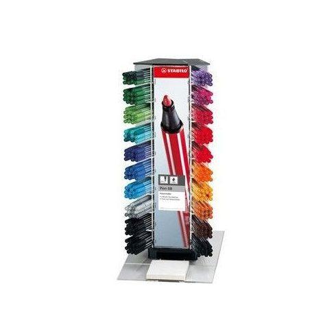 Filctoll, 1 mm, Stabilo Pen 68, vegyes színek, db