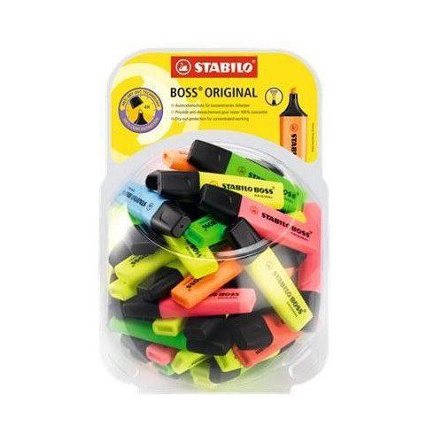 Szövegkiemelő, 2-5mm, Stabilo Boss, vegyes színek