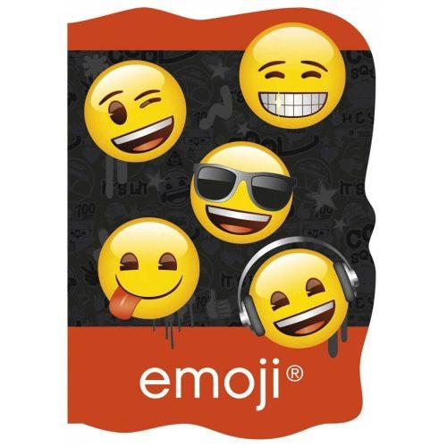 Smiley, emoji notesz A/6, többféle minta