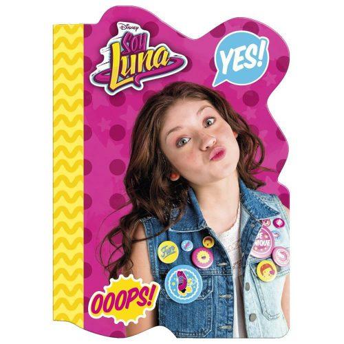 Soy Luna notesz A/6, többféle minta