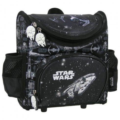 Star Wars hátizsák, merev falú, ovis, 24x20x12cm, SW14, TIE fighters