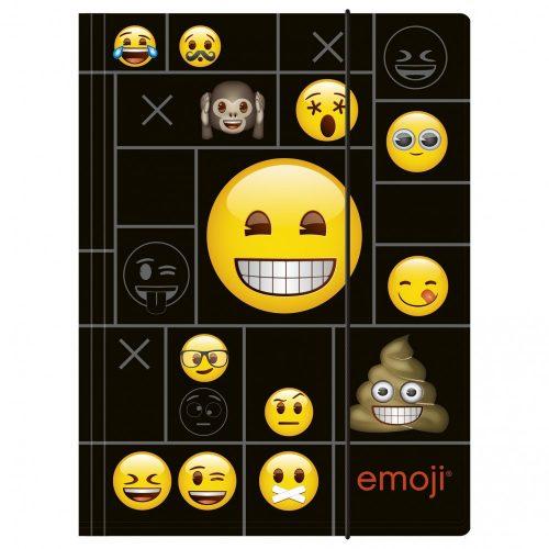 Smiley, emoji gumis mappa A/4