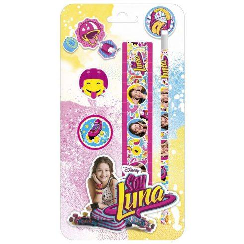 Soy Luna írószer, suli szett, 4 db-os, SL10