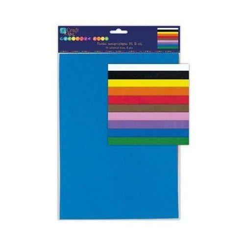 Dekorgumi csomag, öntapadós, A/4, 10lap/csomag