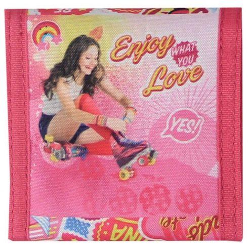 Soy Luna pénztárca, 15x8,5 cm