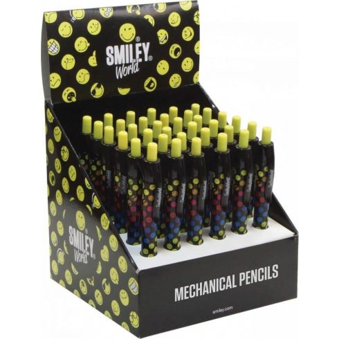 Smiley, emoji töltőceruza, mechanikus ceruza 0,5mm, 1 db
