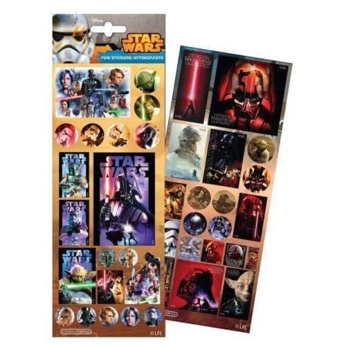 Star Wars matrica, többféle, 11x26 cm