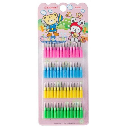 Tolóbetétes ceruzához grafitbél, Bensia, 48 db/csomag