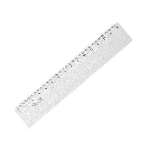 Vonalzó 15cm, műanyag, Koh-I-Noor