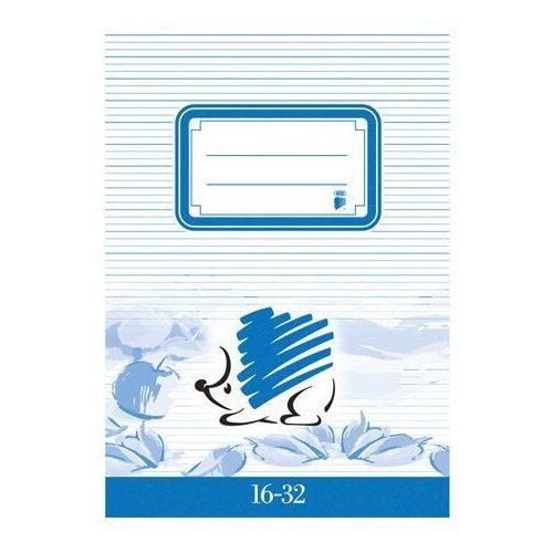 Süni tűzött füzet A/5, 32 lap vonalas 2.osztály (16-32), ICO