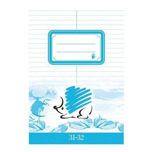 Süni tűzött füzet A/5, 32 lap szótár, ICO