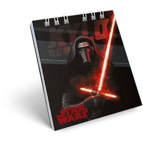 Star Wars notesz spirál kicsi A/7 Kylo Ren