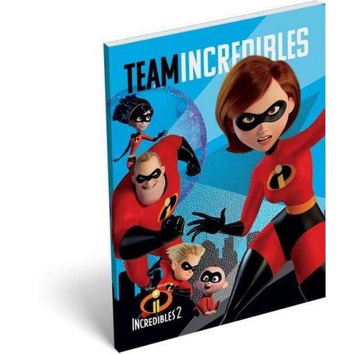 The Incredibles - A hihetetlen család 2. notesz A/7 Team