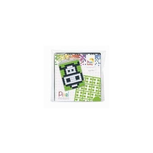 Pixel kulcstartókészítő szett 1 kulcstartó alaplappal, 3 színnel, boci