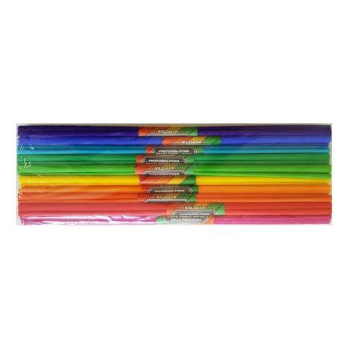 Krepp papír 50x200cm, 10 db szín/csomag
