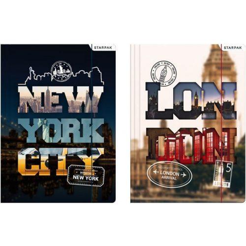 City gumis mappa A/4, London, New York
