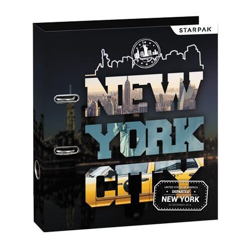 New York City emelőkaros iratrendező, A/4, 70mm