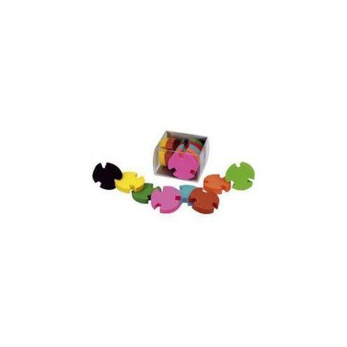Radír Kerek puzzle, 8 db/csomag