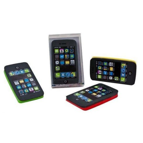 Radír Mobiltelefon, 4 féle szín