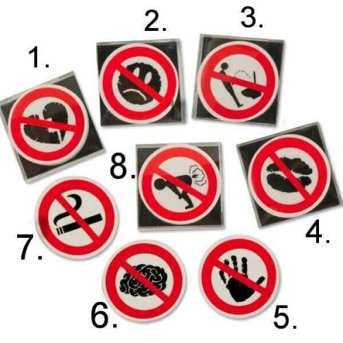 Radír Ne csináld!, 8 féle változat