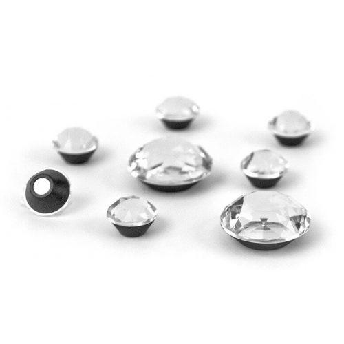 Mágnesek, bling bling, 8 db-os, Diamond - gyémánt